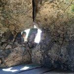"""Eine der Höhlen der Burg Regenstein - mit verstärktem """"Fenstersturz"""""""